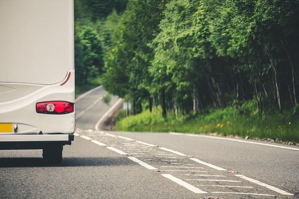 Camper Van Travel In The Uk, Stuck Behind A Slow Moving Camper V